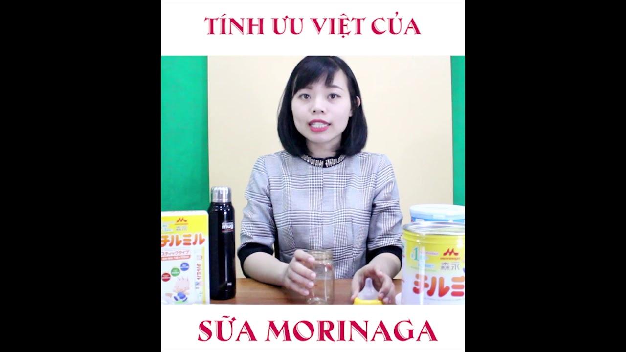 Review Sữa Morinaga công thức nội địa nhật (tokyobaby.vn)