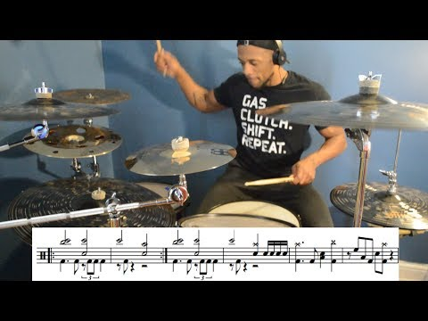 Breaking Benjamin - Red Cold River - Drum Cover (With Sheet Music)