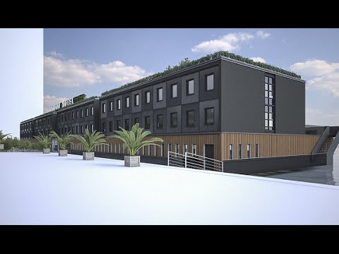 Floating Former Dutch Prison To Open In London As The Good Hotel