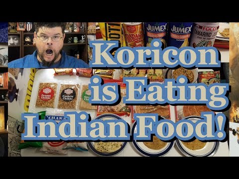 Koricon Is Eating Indian Food!!!