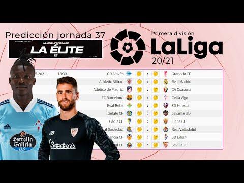 Jornada 37 Liga Santander 20/21 ¿CUÁNTOS RESULTADOS DE FÚTBOL ACERTARÉ? | La mega porra de La Élite
