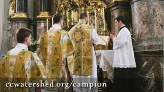 COMMUNION: Dóminus regit me, et nihil mihi déerit