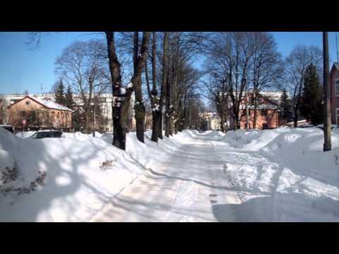 Riga. Latvia. White February 2011