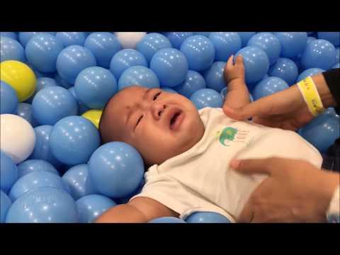 Kidzoona Indoor Playground Fun | Mandi Bola Di Tempat Main Anak Kidzoona AEON Mall