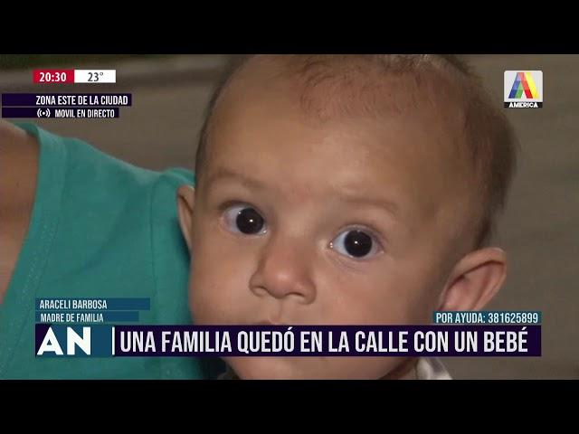 UNA FAMILIA QUEDÓ EN LA CALLE CON UNA BEBÉ I ATN (30-12-2020)