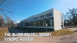 Aalto Library, Hermitage-Vyborg, Oldest House. Vyborg, Russia
