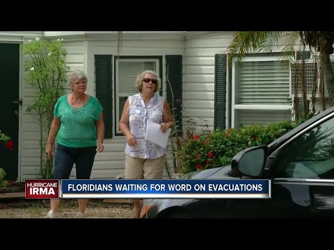 Emergency managers urge residents to prepare evacuation plan