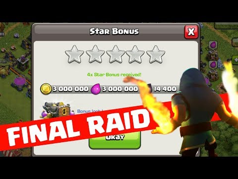 FINAL RAID FROM MY REDMI NOTE 4 , USED FOR 2 YEAR ,EMOTIONAL TIME,CLASH OF CLANS INDIA