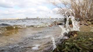 """Зарисовка """"47 секунд свежести"""", набережная Днепр, Монастырский остров"""