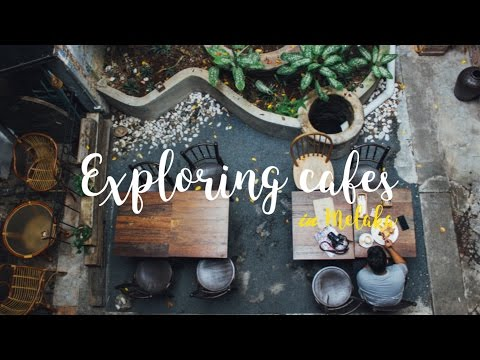 Exploring cafes in Melaka
