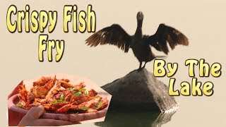Crispy Fish Fry - Nethili Fish Fry - Best With Toddy