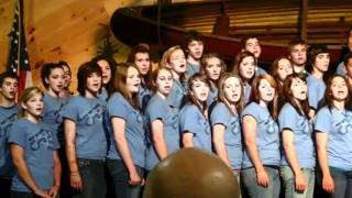 the gospel song word of life family campground staff choir 2010