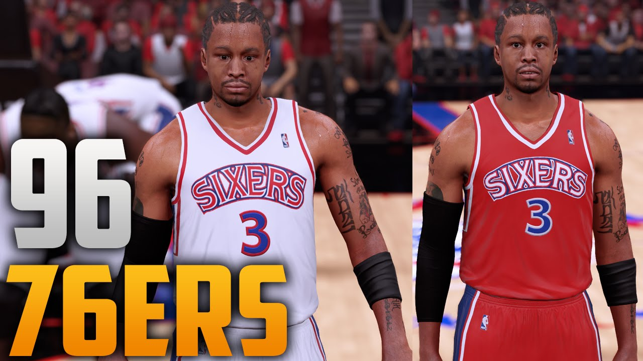 ... NBA 2K16 1996 Philadelphia 76ers Jersey Court Tutorial ... 8b1155791