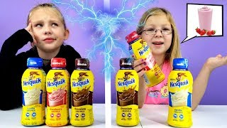 Twin Telepathy Milkshake Challenge!!!