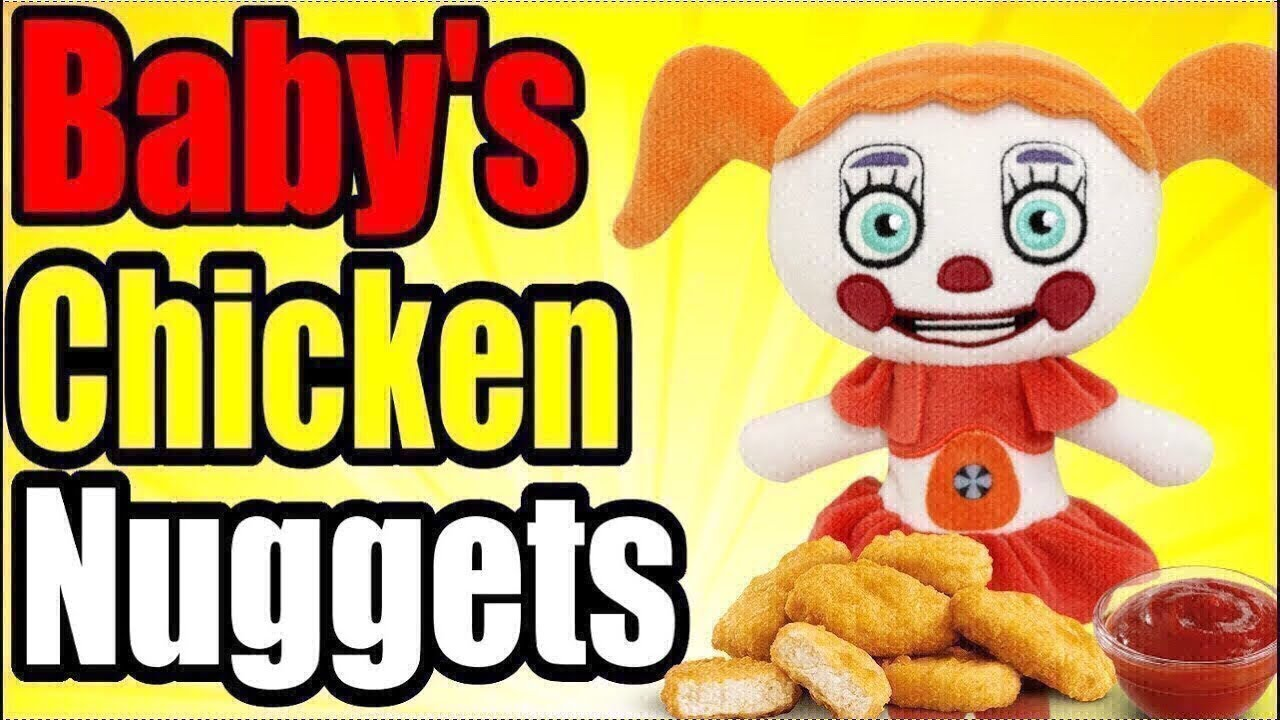 FNAF Plush - Baby's Chicken Nuggets