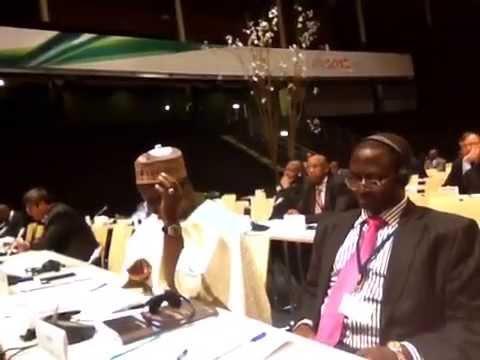 Hon Mukhtar @ the ACP-EU JOINT PARLIAMENTARY ASSEMBLY