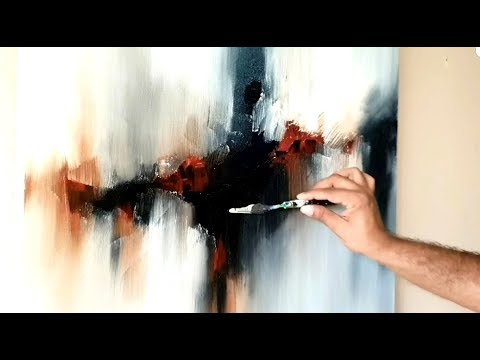 Acrylic Abstract Painting / Glimpse of First Instruction video workshop / Suraj Fine Arts