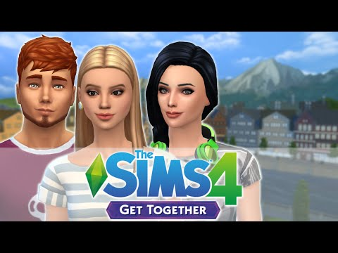 Let's Play: Sims 4 Get Together   Part 4   Coffee Date