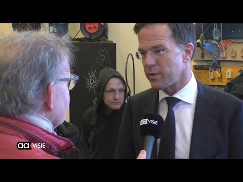 Minister-president Rutte bezoekt project Dagloon in Almelo