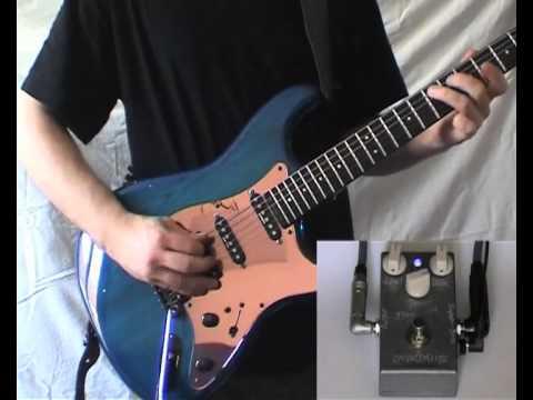 Blue Neon OD from MANA+Blade RH4 classic+Fender BJ.