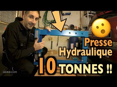 🥊Unboxing 🥊On monte la PRESSION 🌡Presse Hydraulique 10 TONNES !! 🐘
