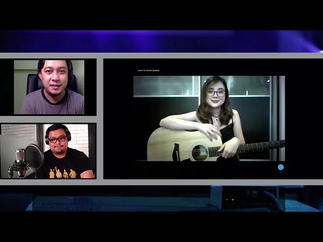 Carmina Topacio at OnLivePH's Livestream (Highlights)