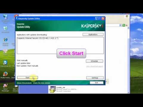 Download and Use Kaspersky Update Utility to Update Offline