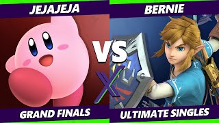 S@X 372 Online GRAND FINALS - Bernie (Link) Vs. JeJaJeJa (Kirby) Smash Ultimate - SSBU