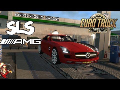Euro Truck Simulator 2 | Mercedes Benz SLS AMG [G29]