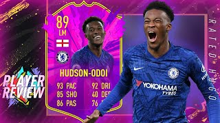 FIFA 20 FUTURE STARS HUDSON-ODOI PLAYER REVIEW  IS HE WORTH THE COINS  FIFA 20 ULTIMATE TEAM