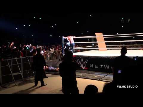 WWE in Malaysia John Cena vs Seth Rollins - Justinlmk
