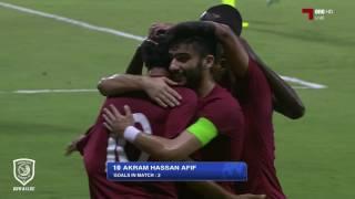 الأهداف | قطر الأولمبي 2 - 0 تركمانستان الأولمبي | تصفيات كأس آسيا 2018
