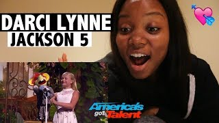 Darci Lynne: 12-Year-Old Ventriloquist - Song to Mel B (Jackson 5) - REACTION!
