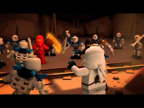 LEGO Ninjago 2011 Сезон 1 Эпизод 2: Золотое оружие