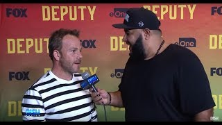 CHUEY MARTINEZ DISHES WITH STEPHEN DORFF AND THE STARS OF FOX'S NEW SHOW 'DEPUTY' thumbnail