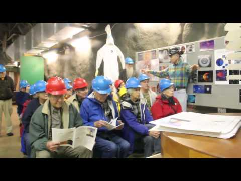 Tour of Soudan Mine Underground Physics Lab