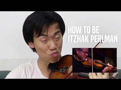 Play like ITZHAK PERLMAN in 1 minute!