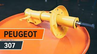 Cum se inlocuiesc amortizatorii frontali și suportul amortizatorului pe  PEUGEOT 307 [TUTORIAL]