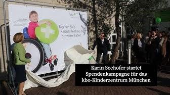 Karin Seehofer startet Spendenkampagne für das kbo-Kinderzentrum München