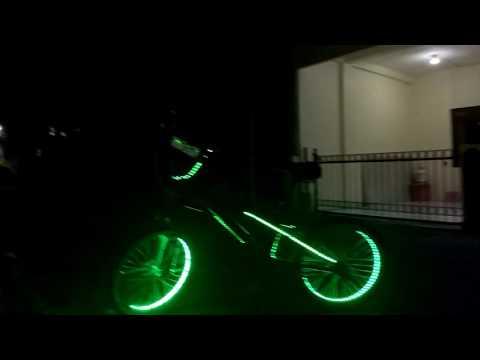 Gambar Modifikasi Sepeda Bmx Keren Lanjutan Modifikasi Sepeda Bmx Led Meteran Youtube