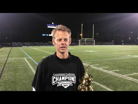 Post-Championship interview with Swarthmore Women's Soccer Head Coach Todd Anckaitis