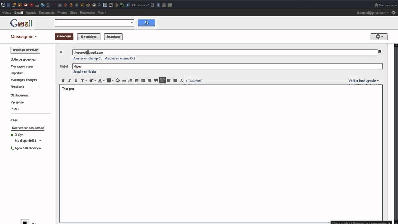 gmail boite mail de confiance son logiciel youtube. Black Bedroom Furniture Sets. Home Design Ideas