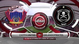 Absa Premiership | Chippa United v Orlando Pirates | Highlights