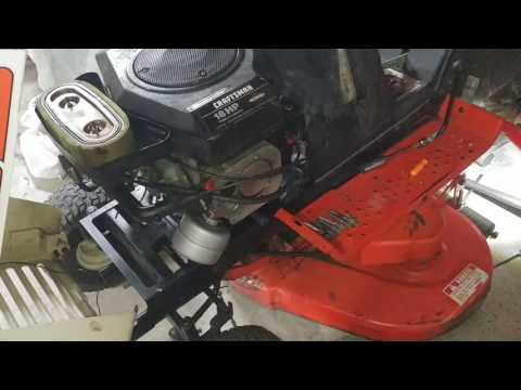 Simplicity 5212 5 5216 Hydrostatic Fluid Change YouTube