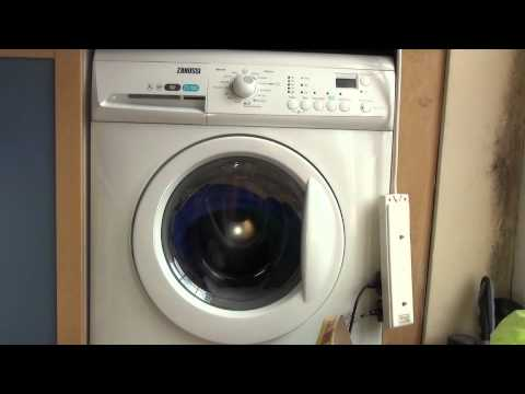 Zanussi Aquafall ZWHB7160 : Cotton : Wash inter spin 650rpm (7 of 13)