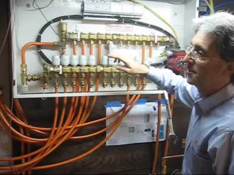 How To Make A Schematic Diagram Corsa C Stereo Wiring Radiant Floor Heating: Bleeding The Loops - Youtube