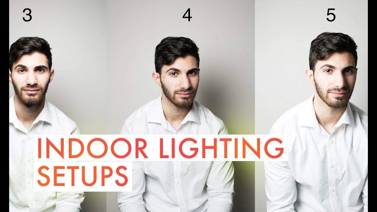Indoor Lighting Setups for Photography