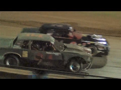 Street Stock Last Laps Photo Finish @ Iron Giant-River City Speedway 2019