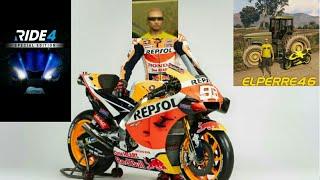 Ride 4 Especial probando motos…