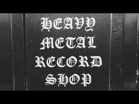 TheMetalTris - Visiting London's only Metal Record Shop